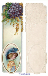 Small card vintage bookmark 1