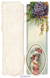 Small card vintage bookmark 4