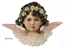 Small large scrap pink angel