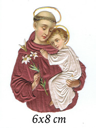 Small silk scraps wholy joseph with jesus