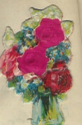 Small silk scraps flowers 34.1928