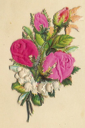 Small silk scraps flowers 44.1913