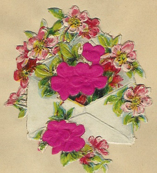 Small silk scraps flowers 59 1921