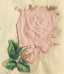 Small silk scraps flowers 63.1928