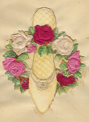 Small silk scraps flowers 67.1931