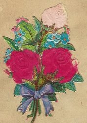 Small silk scraps flowers 95 1927