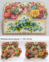 Small pop up victorian pop up die cut 1