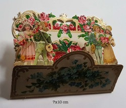 Small pop up victorian pop up die cut 10