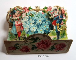 Small pop up victorian pop up die cut 11