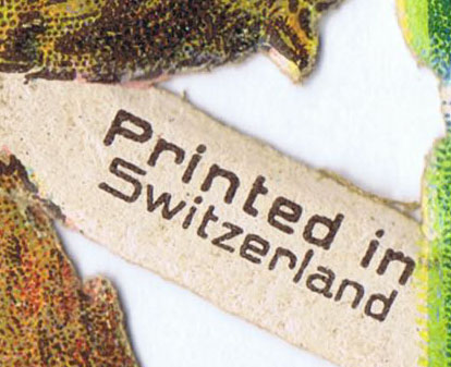 Printed in switzerland